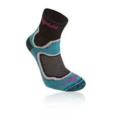 Bridgedale Run Speed Trail Coolfusion Womens Blue Black Cushioned Running Socks