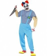 Costume clown assassino adulti Halloween Carnevale Cod.204725