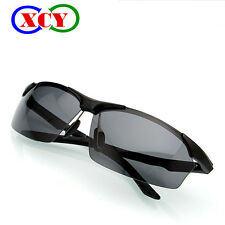 Driving Polarized Men Sunglasses Alloy Frame Pilot Eyewear Glasses Eyewear