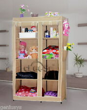 India's No.1 CbeeSo Portable Foldable Folding Wardrobe Cupboard Almirah CB-265