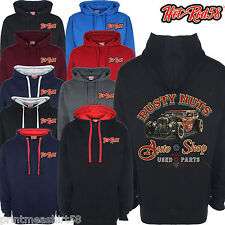 Hotrod 58 Classic American Rat Rod Car Rusty Nuts Garage V8 Shop Hoody Hoodie 55