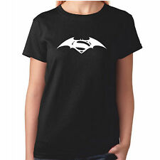 Ladies Batman VS Superman T Shirt - Black Marvel DC Comics