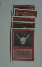 MTG Choose Your White Bordered Magic the Gathering Card - Red