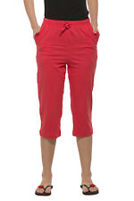 Clifton Womens Solid Capri - Water Melon