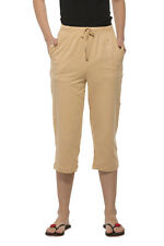 Clifton Womens Solid Capri - Banana Cream