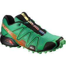 Scarpa Scarpe Trail Running SALOMON SPEEDCROSS 3 Real green tomato red black