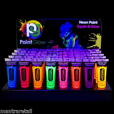 Paint Glow Neon UV Brillance Peinture De Visage Corps Fluorescent 10ml tube