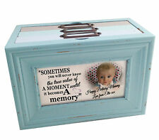 Personalised photo memory box or photo album storage, Happy birthday Mummy gift