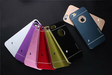 MOTOMO Brand Stylish Metallic Finish Hard Back Cover Case For iPhone 4G &5G & 6G