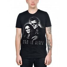 MENS T-SHIRT - MAN IN BLACK - Rockabilly, Gothic, Punk, Emo,TOO FAST,