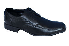 BATA BRAND MENS BLACK LACE UP LEATHER FORMAL SHOES 6501-