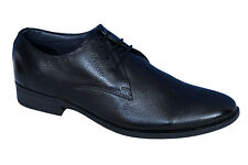 BATA BRAND MENS BLACK LACE LEATHER FORMAL CASUAL SHOES 6509-