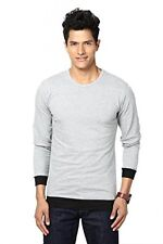 Unisopent Designs Contrast Round Neck Full Men's T-Shirt