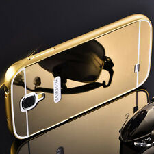*LUXURY MIRROR ALUMINIUM METAL*Bumper Back Cover Case For*Samsung Galaxy S4*