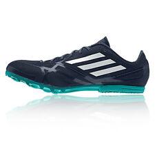 Adidas Adizero MD 2 Mens Navy Blue Running Sports Athletics Spikes Shoes