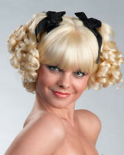 Ringlet Curly Pigtail Bo Peep Anime Goth Enigma Costume Wig - 3 Colors