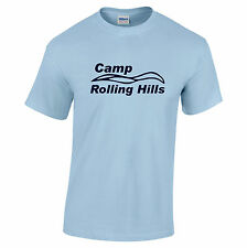 Camp Rolling Hills T-shirt. 'Sleepaway Camp' cult horror slasher movie inspired