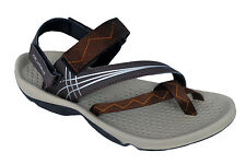Columbus Brand Mens Brown Orng Sports Sandal - Casino