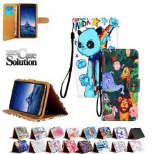 Leather Card Wallet Flip Folio Stand Case Cover For Various Cubot Mobile Phones