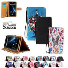 Leather Card Wallet Flip Stand Case Cover For Various Doogee Mobile Phones