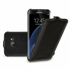 Tetded® Samsung Galaxy S7 Edge  Hand Crafted Slim Genuine Cowhide Leather Case