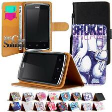 Flip Cover Stand Wallet Card Leather Case For Various Acer Liquid SmartPhones