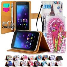 Flip Cover Stand Wallet Leather Case For Various Alcatel OneTouch POP Phones