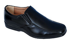 BATA BRAND MENS BLACK SLIPONS FORMAL SHOES 6678