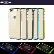 Rock  LIGHT TUBE SERIES  transparent tpu case Cover for Apple iPhone 6s