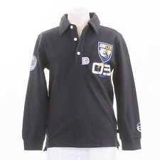 ANOTHER WORLD  Polo-Longsleeve Langarmshirt dunkelblau Gr. 128/134, 140/146  NEU