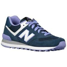 Mujer NEW BALANCE Verde Oscuro Lila WL574CPD Zapatillas Running