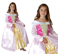 Childrens Pink Princess Fancy Dress Costume Childs Book Week Outfit 3-10 Yrs