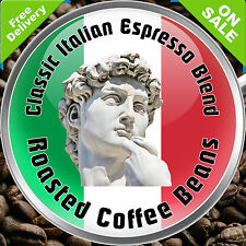Italian Classic Espresso Style Roast Coffee Beans Better than LavAzza 1kg 250g