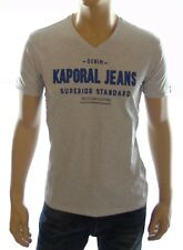 Tee shirt Kaporal Homme manches courtes POBY gris