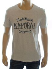 Tee shirt Kaporal Homme manches courtes POOL gris