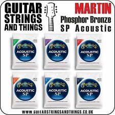Martin SP PHOSPHOR BRONZE Acoustic Guitar Strings - ALL GAUGES 6 String