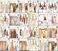 OOP McCalls Sewing Pattern Misses Wedding Prom Party Formal Dress Gown You Pick