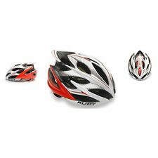 CASCO RUDY PROJECT WINDMAX BIANCO ROSSO FLUO S-M (54-58)