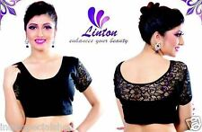 Strechable Lycra Saree Blouse Assorted Colours & Size