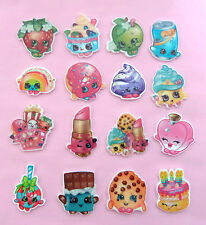 2 x SHOPKINS Planar Resin Flatback Crafting Embellishments Hair Bow Centres