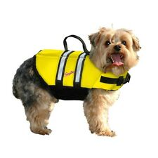 Pawz yellow LIFE JACKET Float Vest flotation Dog Pet Preservers XXS XS S M L XL