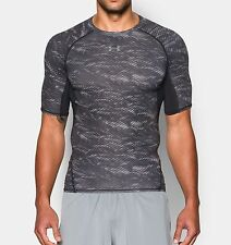 Under Armour HeatGear® Compression Shortsleeve Printed Herren Funktionsshirt
