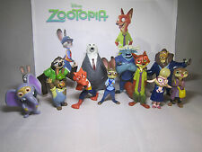 Disney ZOOTOPIA set of 12 pcs Figure PlaySet, Cake Toppers. LICENSED!