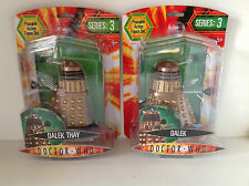Doctor Who SERIE 3 - DALEK THAY Con Pannello Damage O BRONZO Dalek - DR - NUOVO
