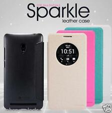 Asus Zenfone 6 Smart Nillkin Sparkle Leather Flip Cover Case
