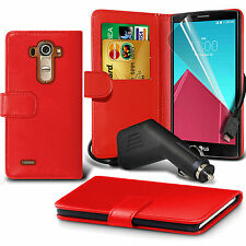 Wallet Flip Book Stand Leather Phone Case Cover✔In Car Mobile Phone Charger