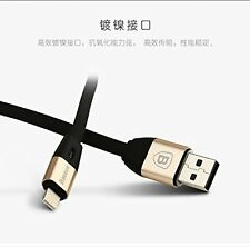 Baseus Auto Disconnect Lightning Data Charging USB Cable for Apple iPhone 6S/5S