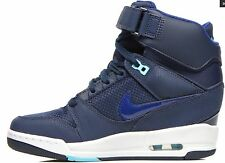 NIKE Air Revolution Sky Hi LEATHER NEW WOMEN'S TRAINERS UK 3.5, 4.5, 5.5 RRP£110