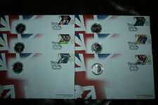 OLYMPICS 2012 TEAM GB GOLD MEDAL WINNER ROYAL MAIL ROYAL MINT COIN COVERS UNIQUE