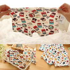 2pcs Cartoon Pattern Kids Children Boys Underwear Bunny Cotton Boxer Briefs